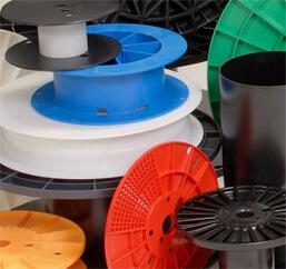 Mossberg Industries, Inc.; spools; reels; plastic molding; extruded pipe; plastics